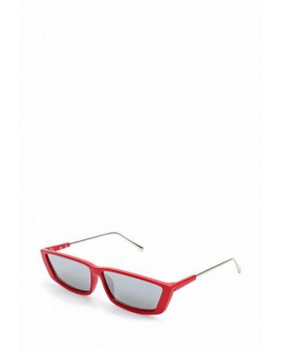 Красные солнцезащитные очки Topshop