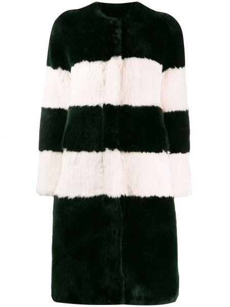 Акриловое пальто с капюшоном La Seine & Moi