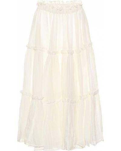 Bielizna biały spódnica maxi Lisa Marie Fernandez