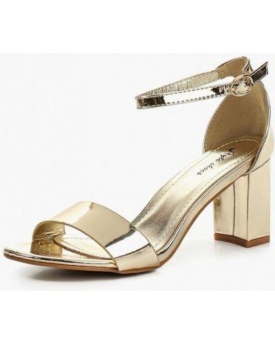 Босоножки на каблуке лаковые Style Shoes