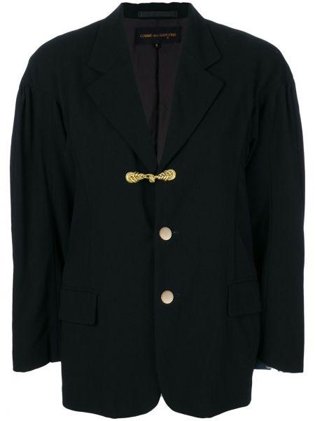 Черная куртка летучая мышь с манжетами Comme Des Garçons Pre-owned