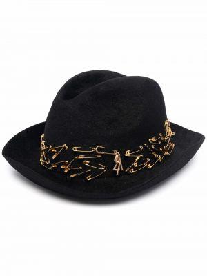 Фетровые шляпа с широкими полями - черные Ruslan Baginskiy