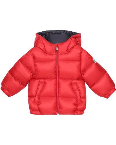 Пуховое пальто Moncler Enfant