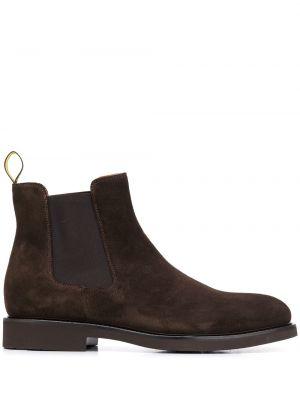 Треккинговые ботинки коричневый челси Doucal's