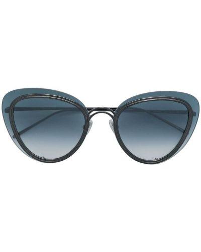 Муслиновые черные солнцезащитные очки Boucheron Eyewear