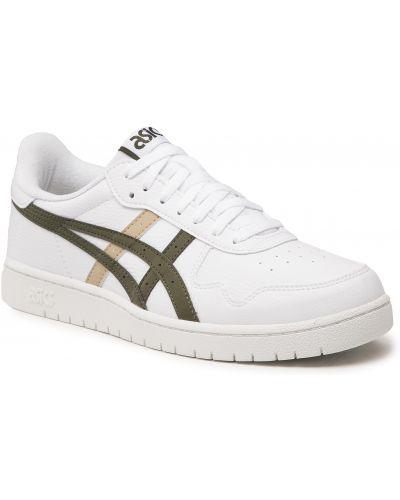 Buty sportowe casual - białe Asics