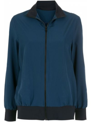 Синяя длинная куртка Lygia & Nanny