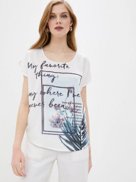 Белая блузка с коротким рукавом Passioni