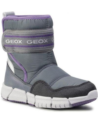 Szary śniegowce Geox