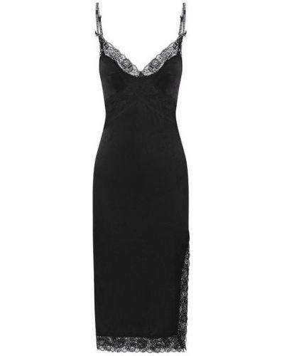 Джинсовое платье из вискозы Versace Jeans Couture