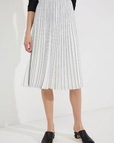 Белая юбка осенняя Karl Lagerfeld