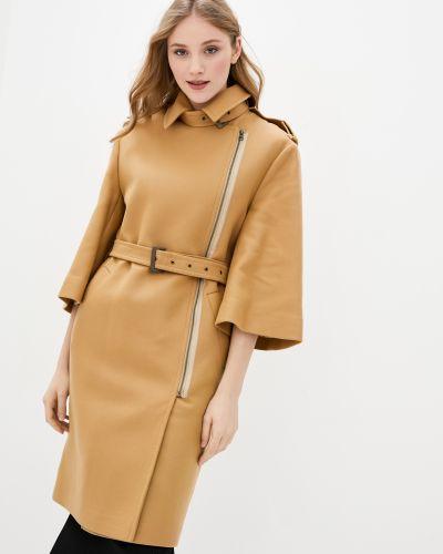 Пальто из верблюжьей шерсти - коричневое Kano