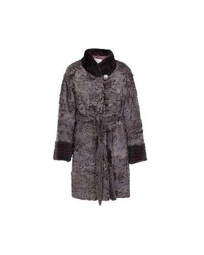 Пальто зимнее из каракульчи American Legend