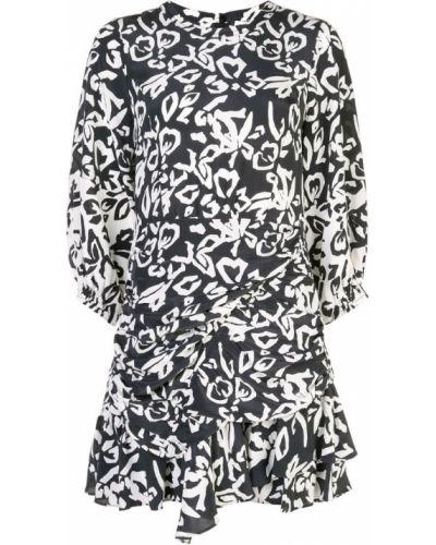Платье на молнии с вырезом Tanya Taylor