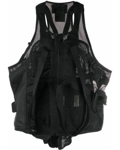 Черная куртка без рукавов на молнии 1017 Alyx 9sm