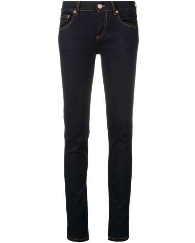 Зауженные джинсы - синие Versus