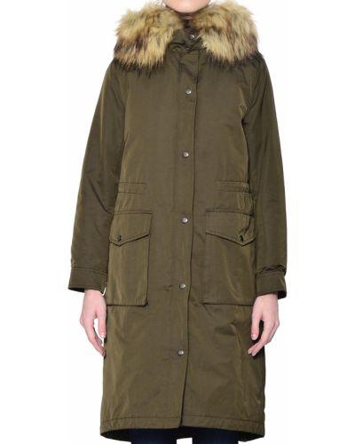 Куртка осенняя зеленая Twin-set