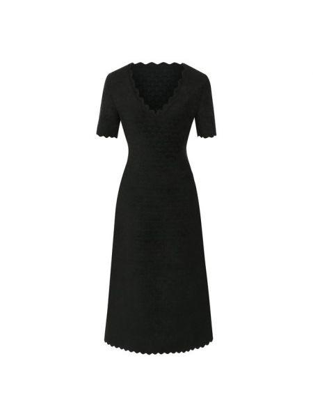 Платье из вискозы жаккардовое Alaïa