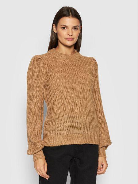 Brązowy sweter Noisy May