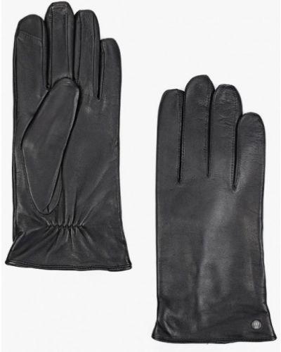 Кожаные перчатки - черные Roeckl