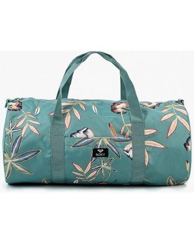 Зеленая спортивная сумка Roxy