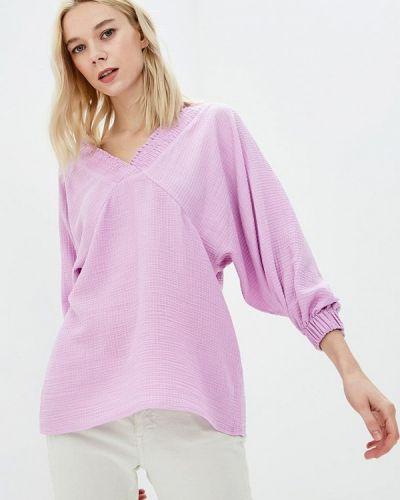 Блузка с открытыми плечами весенний Ruxara