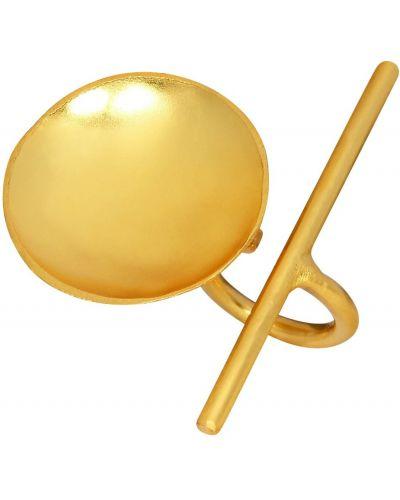 Żółty pierścionek Dinari Jewels