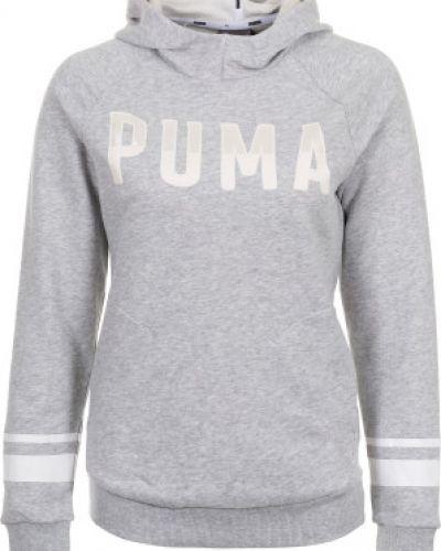 Серый джемпер спортивный Puma
