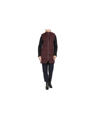 Куртка бордовый красная Lacoste