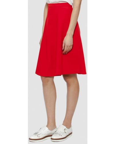 Красная юбка весенняя Dolcedonna