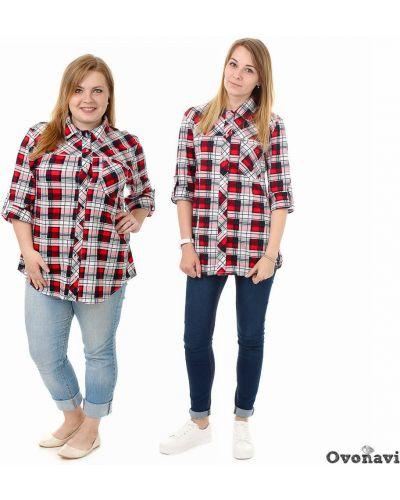 Рубашка на кнопках хлопковая Грандсток