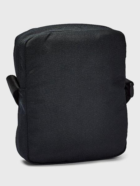 Текстильная сумка через плечо - черная Tommy Hilfiger