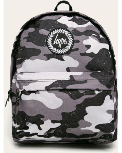 Plecak z wzorem szary Hype