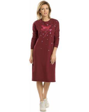 Платье миди платье-сарафан из футера Pelican
