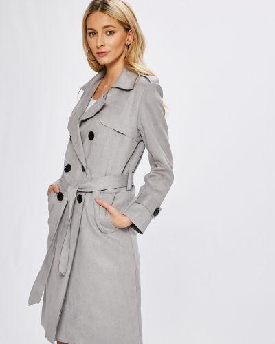 Утепленная куртка с поясом прямая Answear