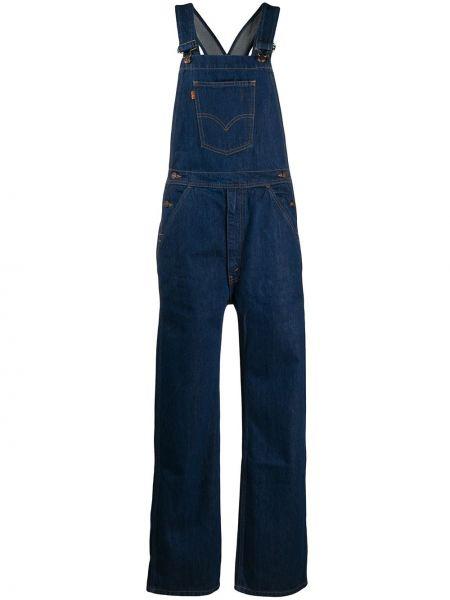 Синий джинсовый комбинезон Levi's Vintage Clothing