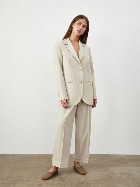 Укороченные брюки со складками 12storeez