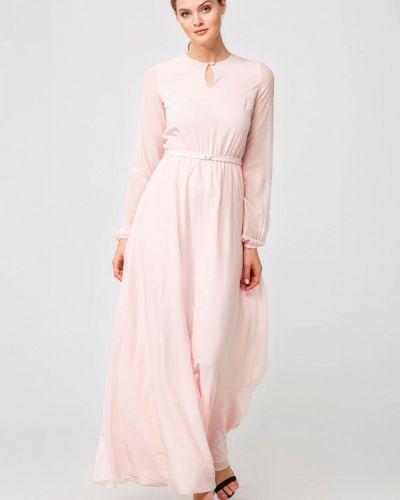 Вечернее платье весеннее розовое Nai Lu-na By Anastasia Ivanova