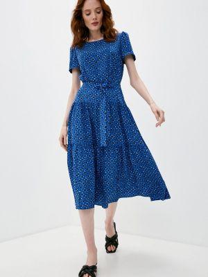 Повседневное синее платье Weekend Max Mara