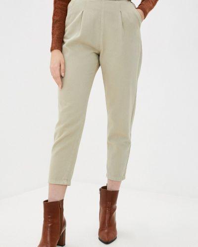 Повседневные бежевые брюки Mondigo