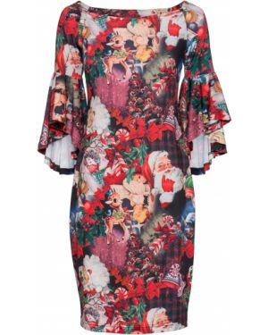 Вечернее платье мини с оборками Bonprix