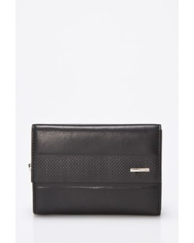Черный кошелек Valentini