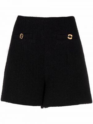 Черные шорты твидовые Ba&sh
