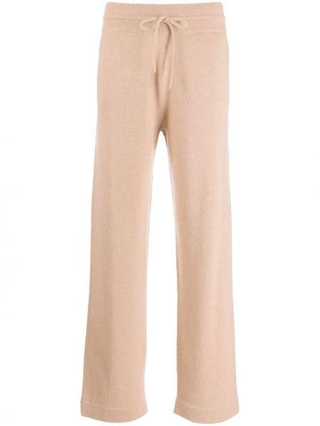 Тонкие кашемировые прямые спортивные брюки Agnona