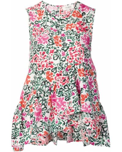 Блузка без рукавов - розовая Isa Arfen