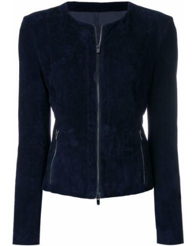 Синяя куртка Drome