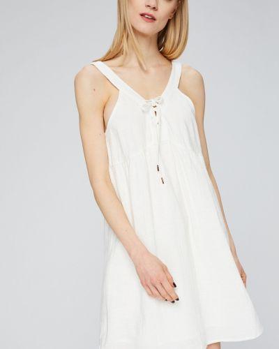Платье мини однотонное свободного кроя Roxy
