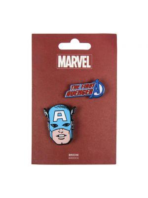 Niebieska broszka Avengers