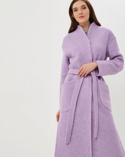 Пальто - фиолетовое Rosso-style