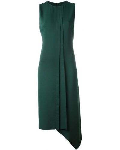 Платье со складками шифт Cédric Charlier